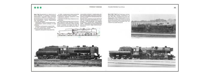 Parowozy kolei polskich, rozkładówka