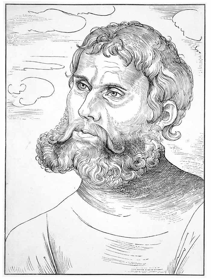 Porter Marcina Lutra autorstwa Lucasa Cranacha