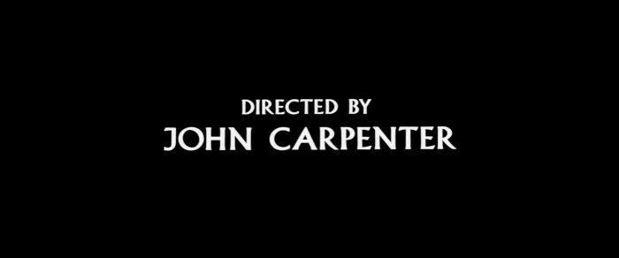John Carpenter używał kroju Albertus w niemalże wszystkich filmach.