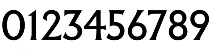 Cyfry z kroju Albertus.