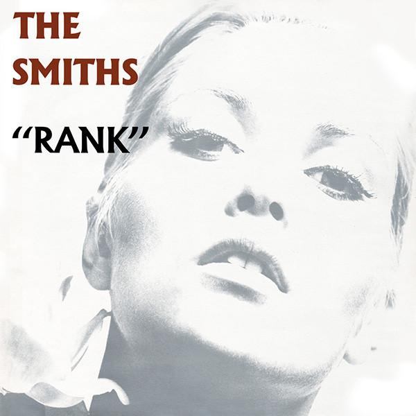 Rank, The Smiths. Okładka wykorzystuje krój Albertus
